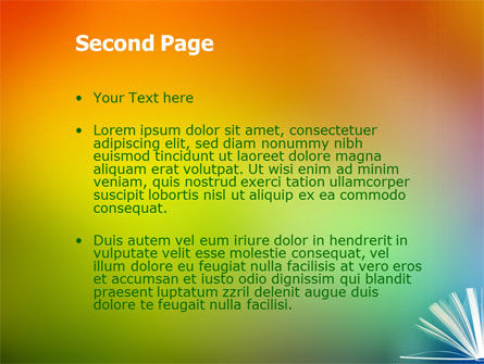Book PowerPoint Template Slide 2