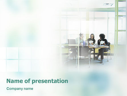 Consulting: Office Meeting PowerPoint Template #02012