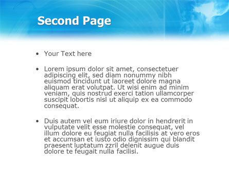 3D Head Model PowerPoint Template, Slide 2, 02013, Technology and Science — PoweredTemplate.com