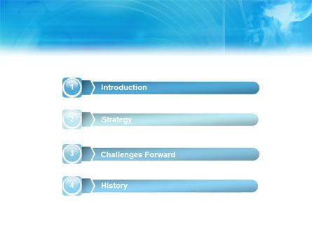 3D Head Model PowerPoint Template Slide 3
