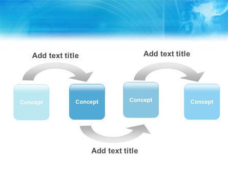 3D Head Model PowerPoint Template Slide 4