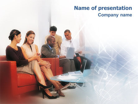 People Communicate PowerPoint Template