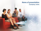 People: People Communicate PowerPoint Template #02014