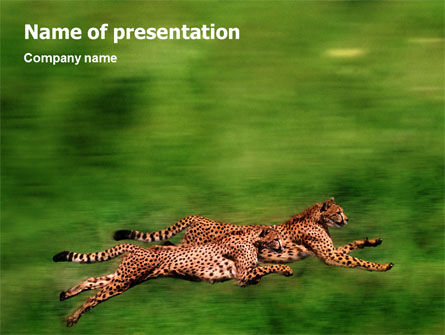 Animals and Pets: Wild Life PowerPoint Template #02015