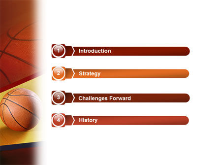Before Basketball Game PowerPoint Template, Slide 3, 02016, Sports — PoweredTemplate.com