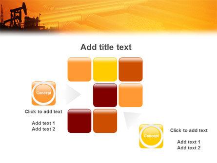 Oil Well PowerPoint Template Slide 16