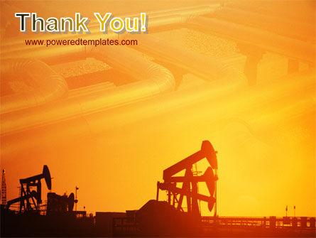 Oil Well PowerPoint Template Slide 20