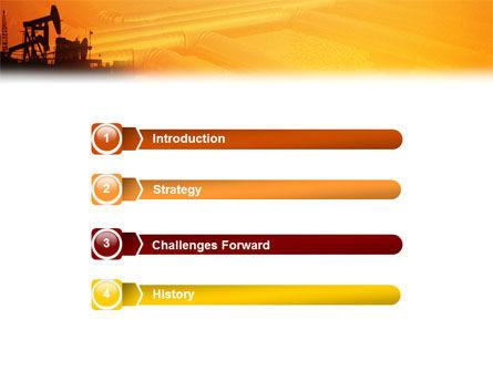 Oil Well PowerPoint Template Slide 3