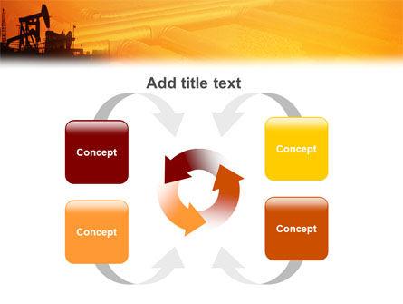 Oil Well PowerPoint Template Slide 6