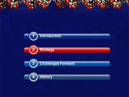 Molecular Modeling PowerPoint Template, Slide 3, 02019, Technology and Science — PoweredTemplate.com