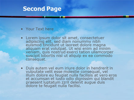 High Jump PowerPoint Template Slide 2
