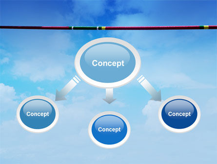 High Jump PowerPoint Template, Slide 4, 02020, Sports — PoweredTemplate.com