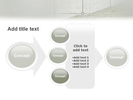 Stairway PowerPoint Template Slide 17