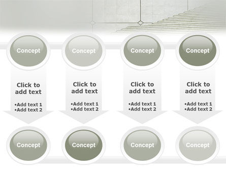 Stairway PowerPoint Template Slide 18