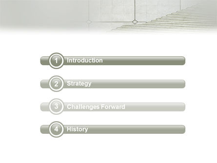 Stairway PowerPoint Template, Slide 3, 02023, Careers/Industry — PoweredTemplate.com