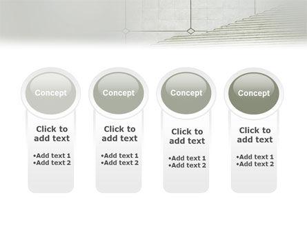Stairway PowerPoint Template Slide 5