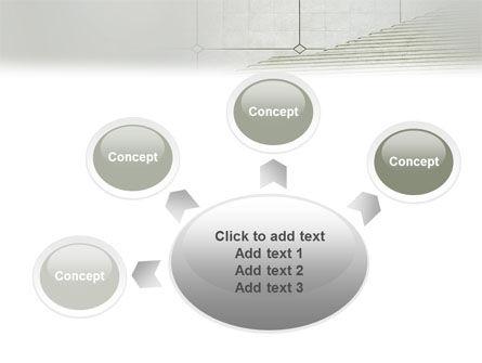 Stairway PowerPoint Template Slide 7