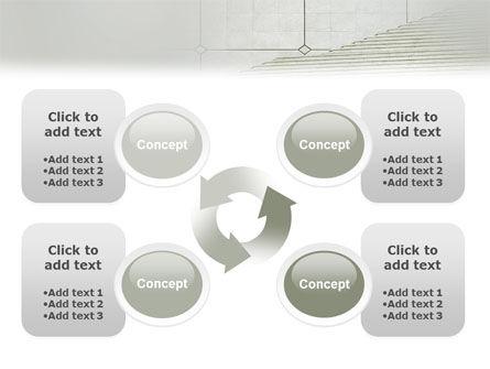 Stairway PowerPoint Template Slide 9