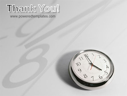 Five O'clock PowerPoint Template Slide 20