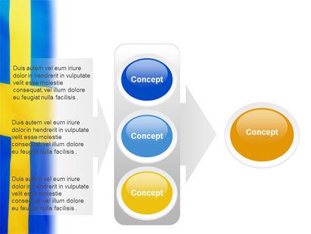 Swedish Flag PowerPoint Template Slide 11