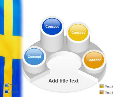 Swedish Flag PowerPoint Template Slide 12