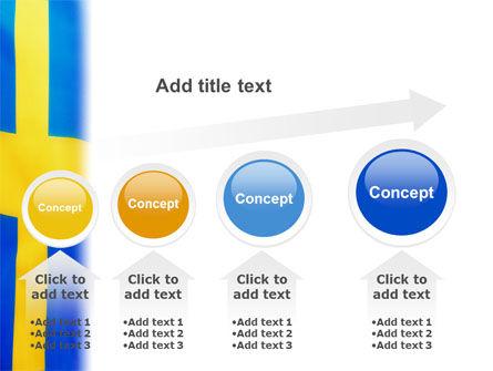 Swedish Flag PowerPoint Template Slide 13