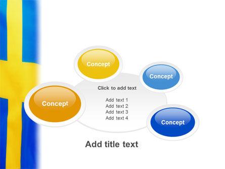 Swedish Flag PowerPoint Template Slide 16