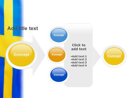 Swedish Flag PowerPoint Template Slide 17