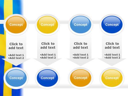 Swedish Flag PowerPoint Template Slide 18