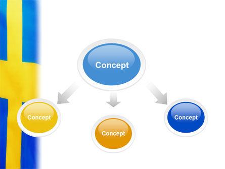 Swedish Flag PowerPoint Template Slide 4