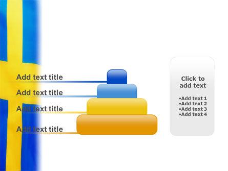 Swedish Flag PowerPoint Template Slide 8