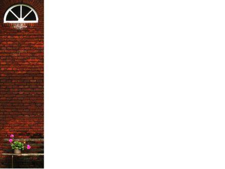Brick Wall PowerPoint Template, Slide 3, 02029, General — PoweredTemplate.com