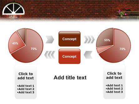 Brick Wall PowerPoint Template Slide 11