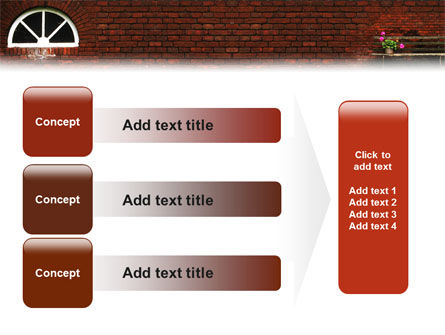 Brick Wall PowerPoint Template Slide 12