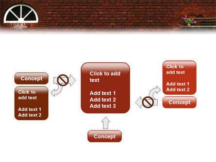 Brick Wall PowerPoint Template Slide 13