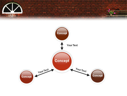 Brick Wall PowerPoint Template Slide 14