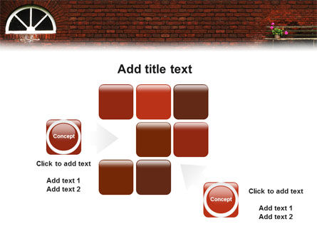 Brick Wall PowerPoint Template Slide 16