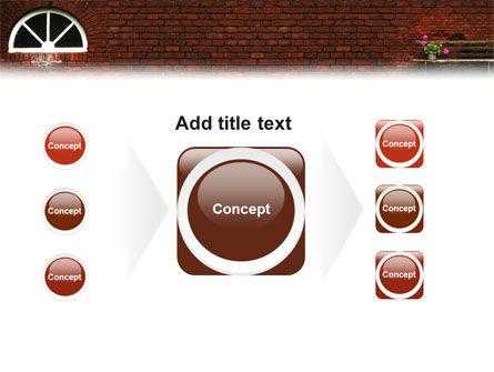 Brick Wall PowerPoint Template Slide 17