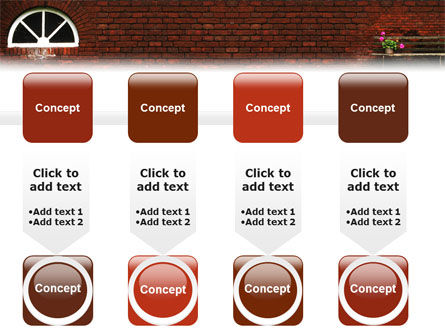 Brick Wall PowerPoint Template Slide 18