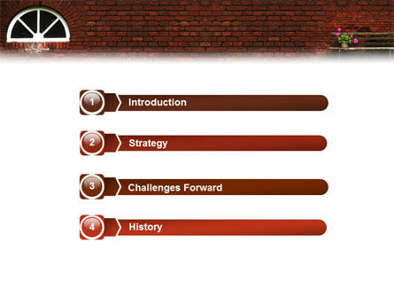Brick Wall PowerPoint Template Slide 3