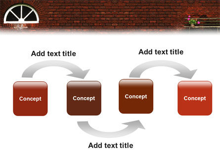 Brick Wall PowerPoint Template Slide 4