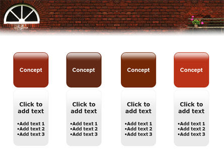 Brick Wall PowerPoint Template Slide 5