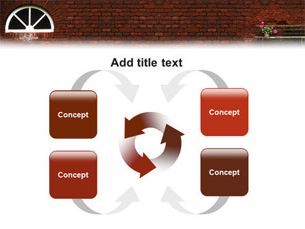 Brick Wall PowerPoint Template Slide 6
