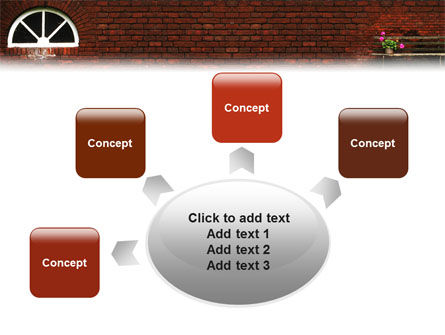 Brick Wall PowerPoint Template Slide 7