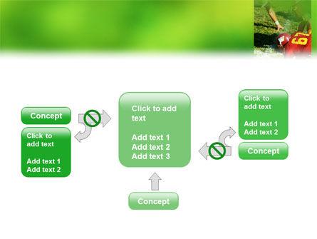 Gridiron Football PowerPoint Template Slide 13