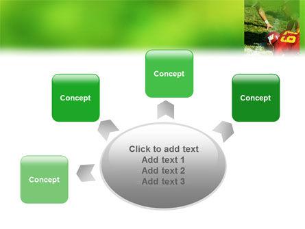 Gridiron Football PowerPoint Template Slide 7