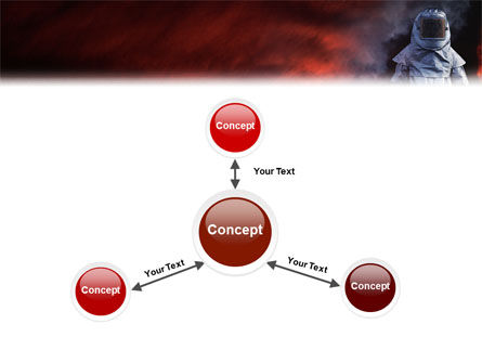 Deep Fire PowerPoint Template Slide 14