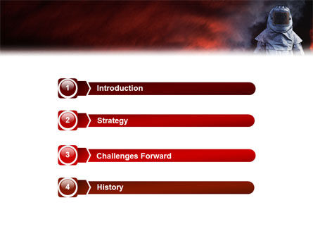 Deep Fire PowerPoint Template Slide 3
