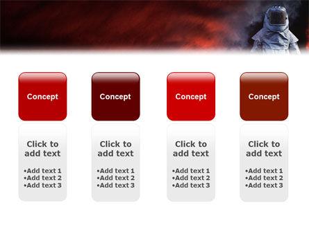 Deep Fire PowerPoint Template Slide 5