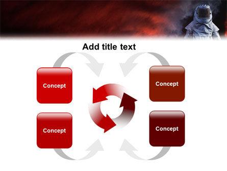 Deep Fire PowerPoint Template Slide 6